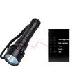 XM-L T6 U2 LED 1800Lm 5 Modos Impermeable Buceo Linterna Submarino Impermeable Submarino Luz Linterna Antorcha Linterna