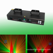 Hot Sale 4 Head Green&Red China Stage Lighting Equipment