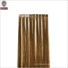 Silk Straight Natural Long 18inch Remy Human Virgin Hair Extension Flat Tip Hair