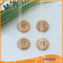 Botones de madera naturales para la prenda BN8008