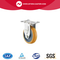 Stainless steel medium duty pu casters