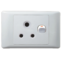 South Africa Style Switch Socket C419