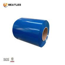 Bobine en aluminium enduit de couleur