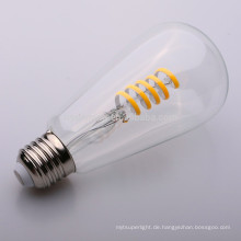 klare weiche Filament St64 4W LED Glühlampe