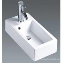 Bassin de salle de bains en céramique suspendu (7098A)