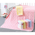 useful 6 layer cotton  jacquard baby blanket