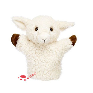 Plush Kids Toy small  Lamb Puppet
