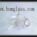 Tampa de vidro de borosilicato / máscara de lâmpada para lanterna e lanterna