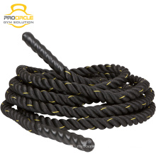Schwarzes Nylon Fitness Training Battle Ropes