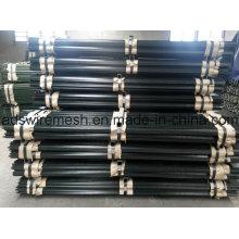 Рельсовые стальные перфорированные Т-образные стойки