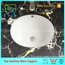 Popular wc bathroom basin, under counter basin/ under counter mounting