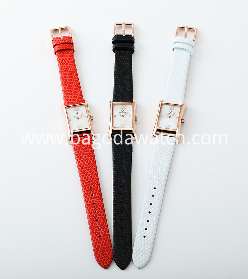 Lether Strap Watch