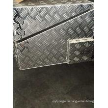 3.0mm Aluminium Checker Platte für Reise Deck