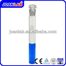 JOAN Vidrio de laboratorio con tapón tubo colorimétrico