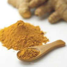Cúrcuma extracto de polvo de aceite soluble en agua curcumina para el condimento