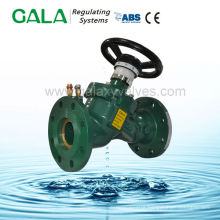 Static automatic balancing valve flow control adjustable