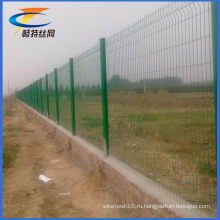 Горячая продажа металлической проволоки для сада или железной дороги забор для защиты