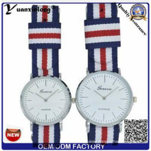 Yxl-546 Japan Quartz Movt and Nylon Strap Simple Style Collection Couple Lover Wrist Watch