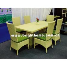 Muebles de jardín / Silla de comedor y mesa / juego de comedor al aire libre