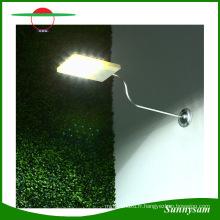 La lumière actionnée solaire de capteur de mouvement 15 LED imperméabilisent les produits d'éclairage extérieurs imperméables sans fil mur / rue / porche / voie / lumière de jardin
