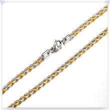 Fashion Jewellery Fashion Necklace Stainless Steel Chain (SH014)