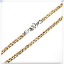 Moda jóias colar de moda corrente de aço inoxidável (sh014)