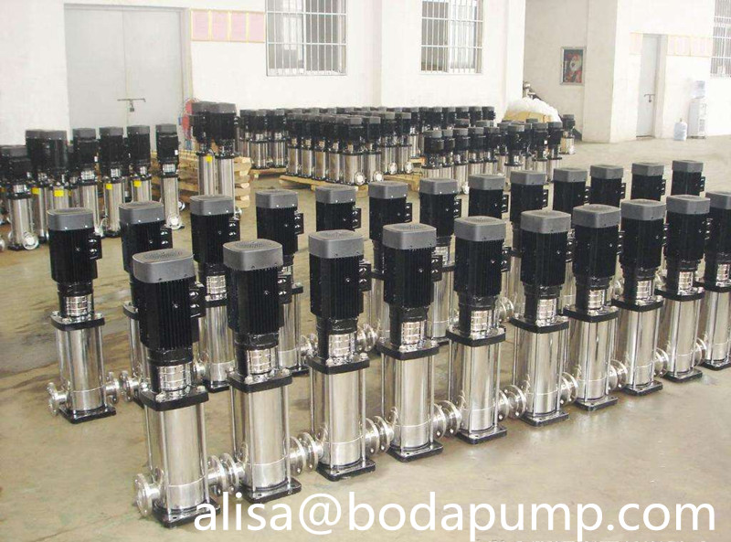 Vertical Multistage Water Transfer Pump