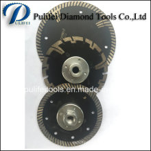 Turbo Segment Cutting Saw Blade for Granite Marble Sandstone
