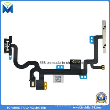 Power on off Button and Volume Mute Key Flex Cable for iPhone 7