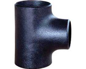Butt Seamless Welded Carbon Steel Pipe Fitting Tee / DIN