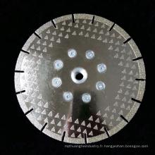pièces d'outils électriques scie à lame de diamant lame de marbre de coupe