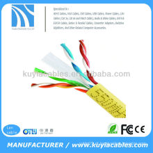 Amarelo UTP CAT6 Rede LAN Ethernet Cabo CAT 6 Cabo Wire1000 FT