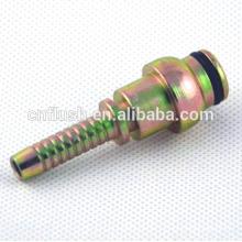 Raccord hydraulique de précision en acier avec zingage