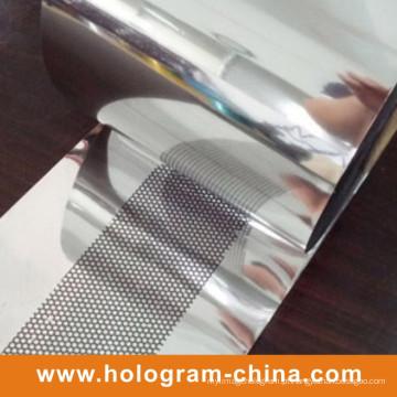 Favo de mel da folha de gravação do holograma evidente da calcadeira