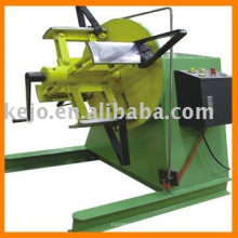 decoiler for wall panel machine