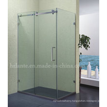 Fashion Stainless Steel Frame Glass Shower Enclosure (LTS-001)