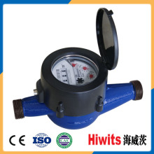 ISO Certificated Multi Jet Dry Type Plastic Water Meter