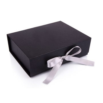 Kotak Hadiah Mewah Black Folding Wedding Gift