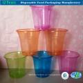 Copa de plástico transparente desechable