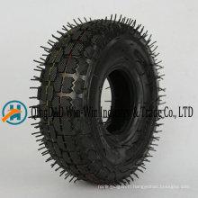 4.10 / 3.50-4 Roue en caoutchouc avec pneu pneumatique