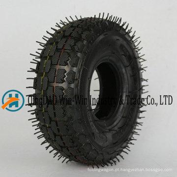 Roda 4.10 / 3.50-4 de borracha com pneumático