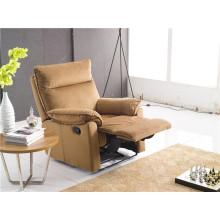Sofá de salón con sofá moderno de cuero genuino (774)