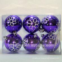 Decoraciones hermosas de la bola del árbol de Navidad