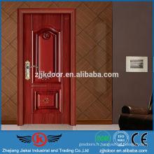 JK-SW9205 porte intérieure moderne moderne en bois pour chambre à coucher