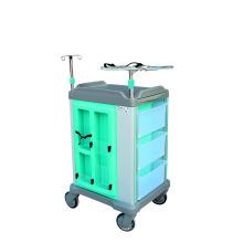 Carro hospitalario de ABS para uso quirúrgico o de emergencia
