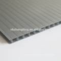 hochwertiges Rauch-Doppelwand-Polycarbonat-Platten-PC-Hohlblatt
