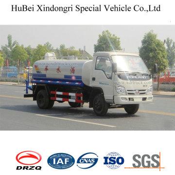 8ton 8cbm Dongfeng Euro 4 tanque de aspersão caminhão