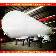 3 Achs LPG Transport Tank Anhänger LPG Tank Semi Trailer