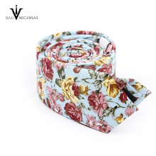 Check Pattern Cotton Necktie