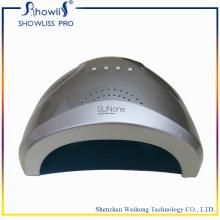 48W LED UV CCFL secador de uñas de mano dual